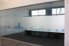 Conference Room Custom Privacy Film