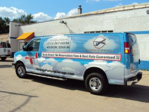 Airways Custom Van Wrap