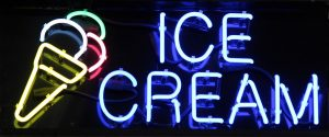 Custom LED Signs Ice Cream Neon Sign