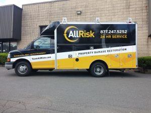Team All Risk Custom Fleet Vehicle Wrap